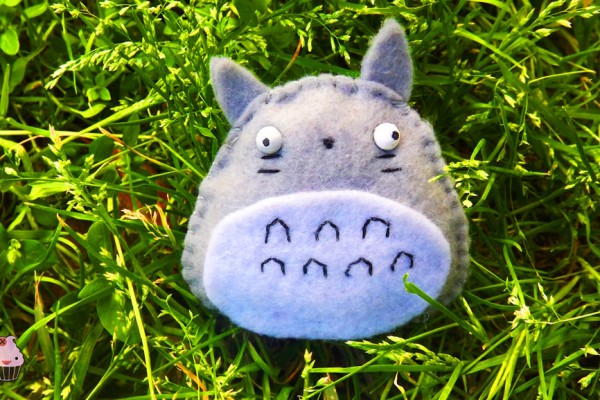 Prendedor de Totoro