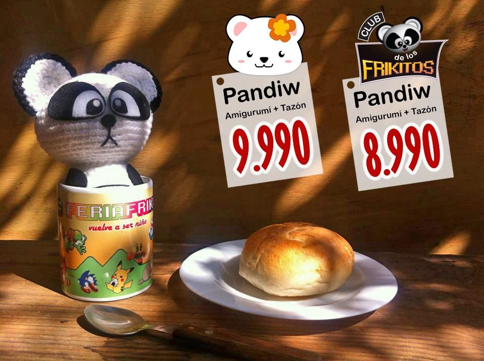 Pandiw más Tazón Feria Friki