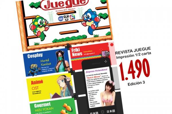 Revista Juegue3