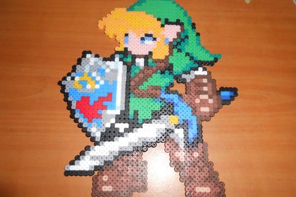 Link Ocarina Gigante